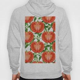 tomato pattern Hoody