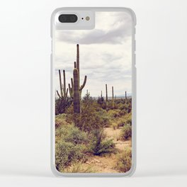 Under Arizona Skies Clear iPhone Case