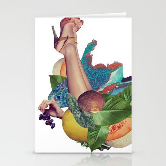 Candela Collage Stationery Cards