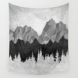 Layered Landscapes Wall Tapestry