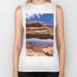 Mesa Arch View Biker Tank