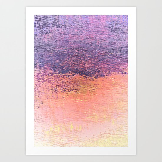 Playing With Pink And Purple Clouds Art Print
