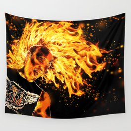 I am the Fire Starter. Wall Tapestry