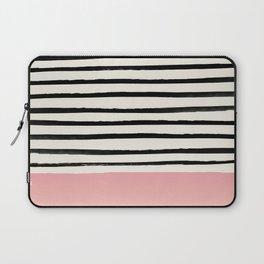 Blush x Stripes Laptop Sleeve