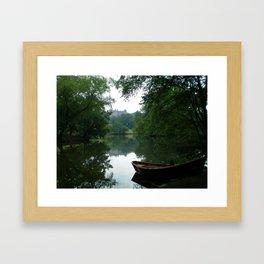 Biltmore House Boat  Framed Art Print