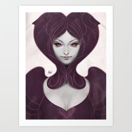 Pepper Heart Art Print