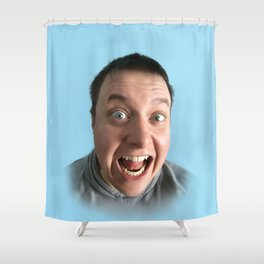 MY FACE Shower Curtain