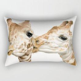 Smooches (Square Format) Rectangular Pillow