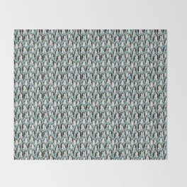 Penguin Colony Throw Blanket