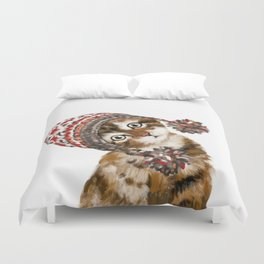 Baby Cat with the Hat Duvet Cover