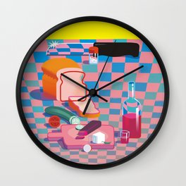 The Knife Wall Clock