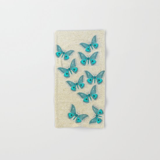 "Coletivo ""Mariposas"" Hand & Bath Towel"