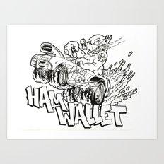 hamwallet  Art Print