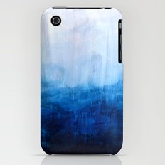 All good things are wild and free - Ocean Ombre Painting Slim Case iPhone (3g, 3gs)