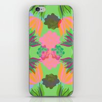oasis iPhone & iPod Skins featuring Oasis by Ingrid Castile