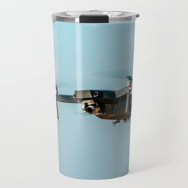 UAV Drone Quadcopter And Digital Camera Flying, Technology, Unmanned Aerial Vehicle, Drone Travel Mug