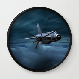 Interceptor Wall Clock