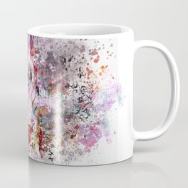 Tiger Watercolor Painted Art Coffee Mug