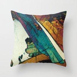Epidote in Quartz Throw Pillow