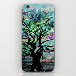 Van Goghs Aurora Borealis Reflection iPhone Skin