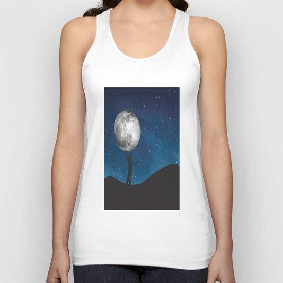 Holding The Moon Unisex Tank Top