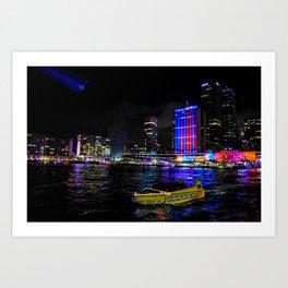Bright City Art Print