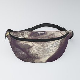 set your cat free vector art natural Fanny Pack