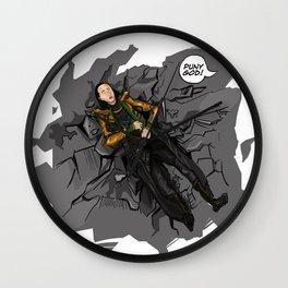 puny god Wall Clock