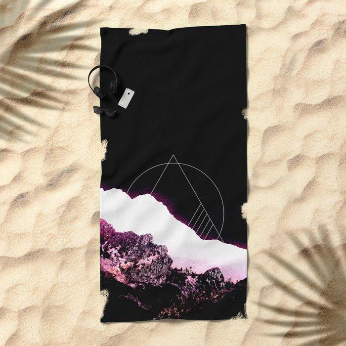Mountain Ride Beach Towel