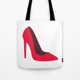 Pink High Heels Tote Bag