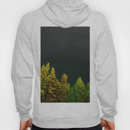 Pine Trees and Stars (Color) Hoody