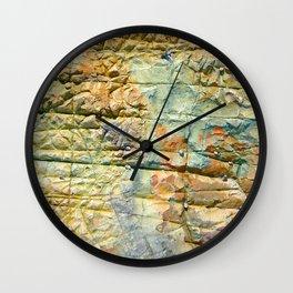 Rock Cunei Wall Clock