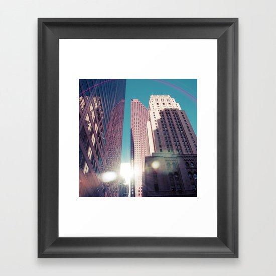Bam! Flare!.. Framed Art Print
