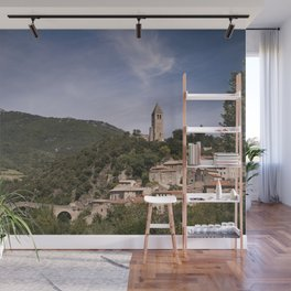 Olargues France Wall Mural