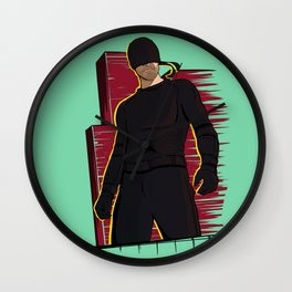Man in the Mask Wall Clock