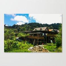 Cameron Highlands House Canvas Print