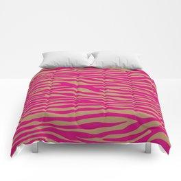 Safari Wild Zebra Comforters
