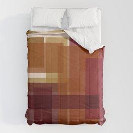 Simple Fall Colour Block Comforters