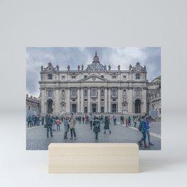 Saint Peters Square, Vatican City, Italy Mini Art Print