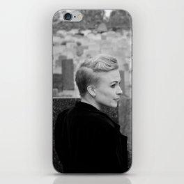 Lady of the churchyard iPhone Skin