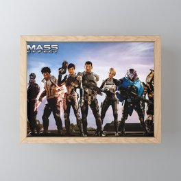 Mass effect Framed Mini Art Print