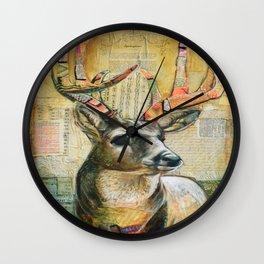 Dearly Beloved Wall Clock