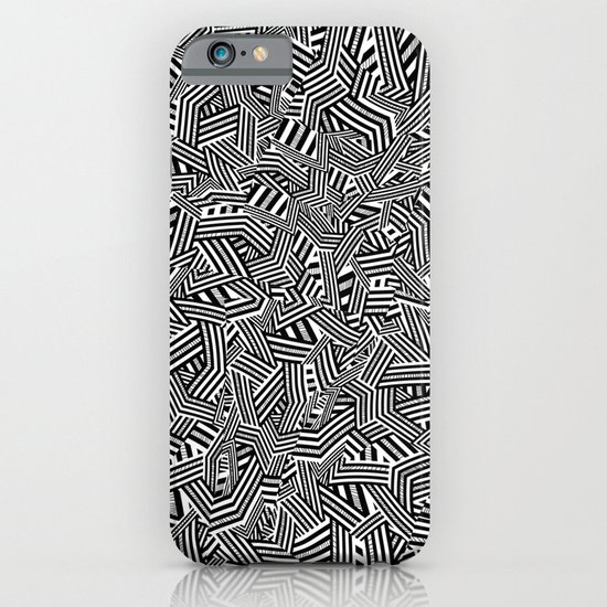 Black And White Trip. iPhone & iPod Case