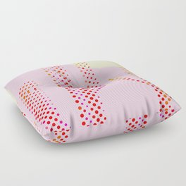 Pink Desert Floor Pillow