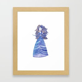 Queen of the West Kingdom Framed Art Print