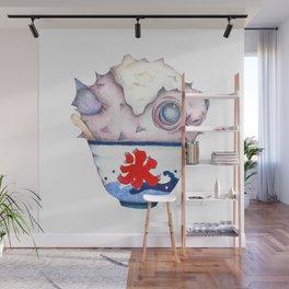 Fugu Snow Cone Wall Mural