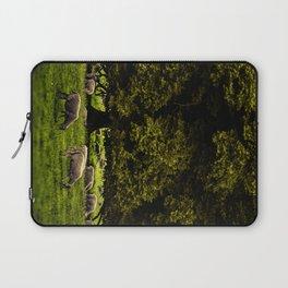Flock of Sheep Laptop Sleeve