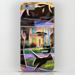 The King at Home iPhone Case