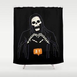 New Follower Shower Curtain