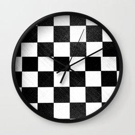 Dirty checkers Wall Clock